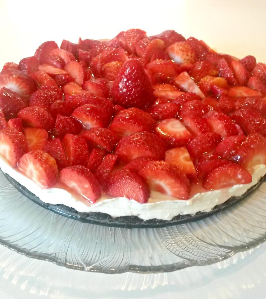 Schokokeks-Erdbeer-Torte