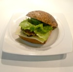 Zucchini Burger bearbeitet
