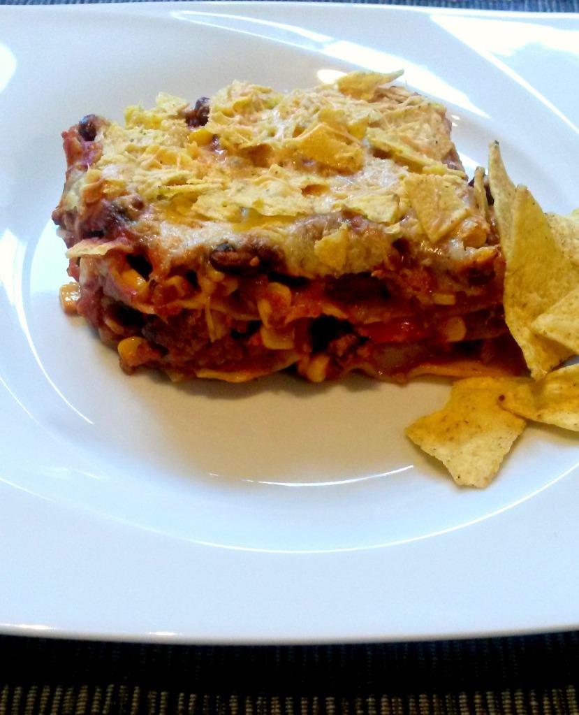mexikanische Lasagne bearbeitet