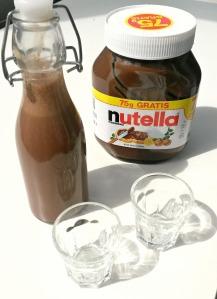 Nutella Likör bearbeitet