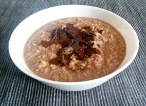 Schoko Porridge bearbeitet