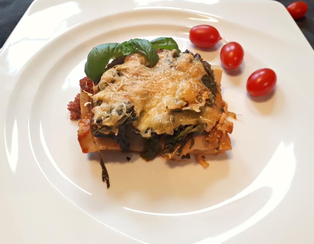 Spinat Lasagne