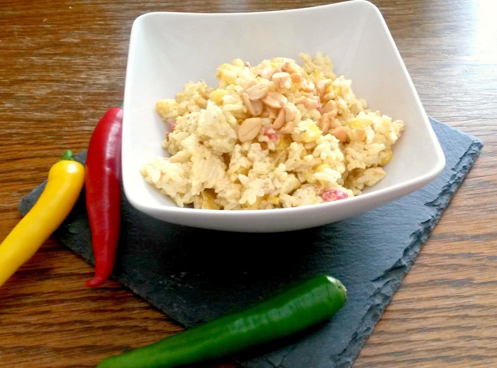 Curry Reissalat bearbeitet