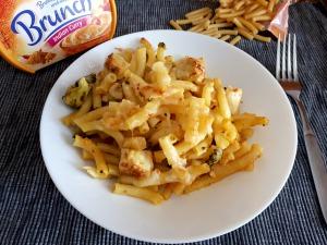 Curry-Nudelauflauf bearbeitet