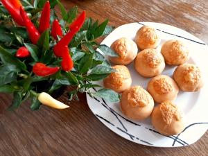 Cheeseburger-Muffins bearbeitet