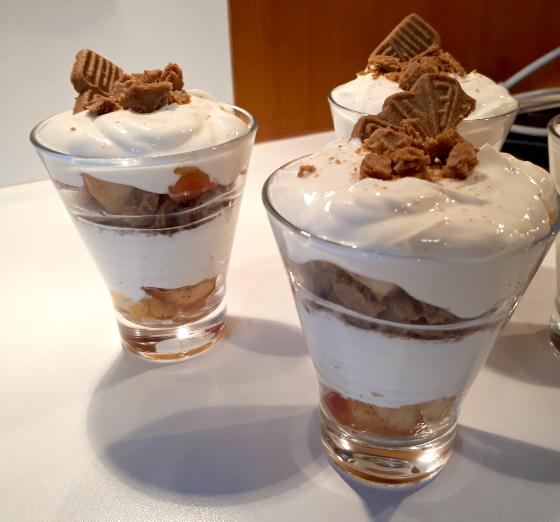 Spekulatius Bratapfel Dessert