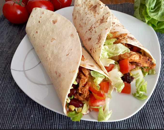 Chicken Fajita Wraps