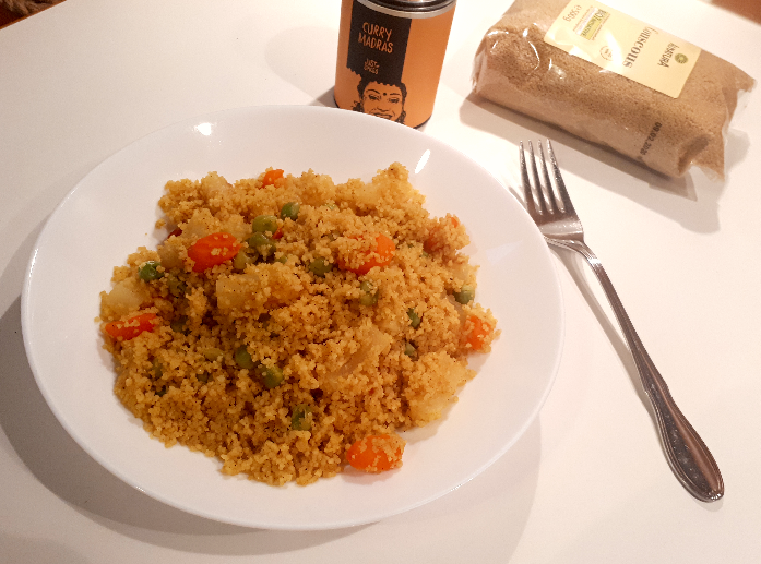 Curry Couscous Pfanne