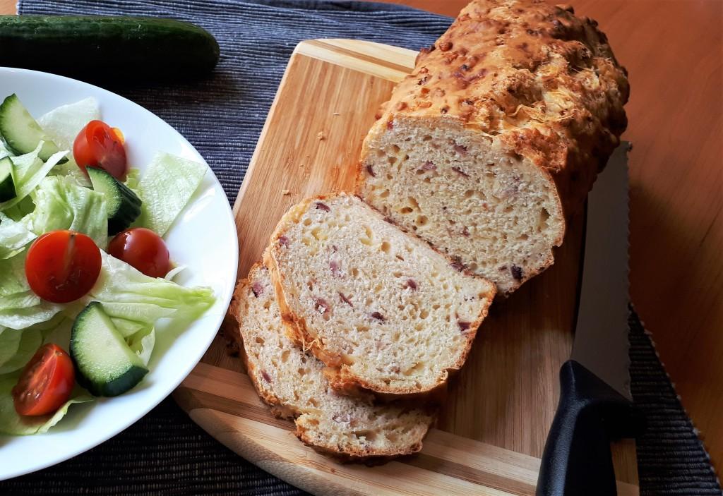 Käse-Schinken-Brot