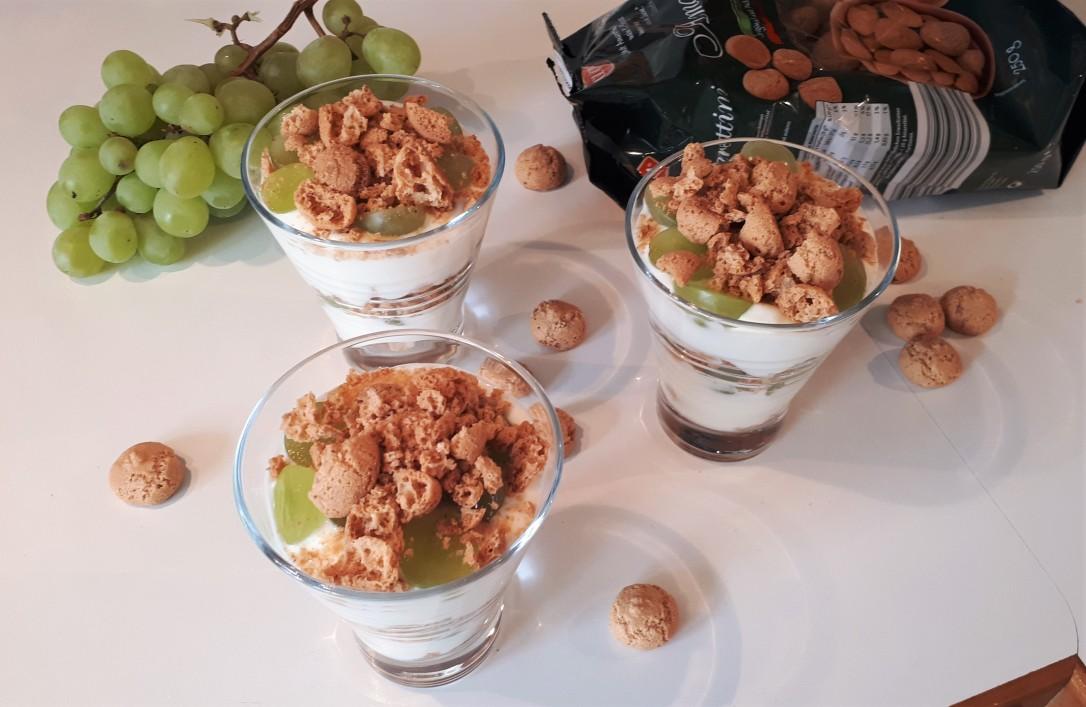 Amarettini-Trauben Dessert