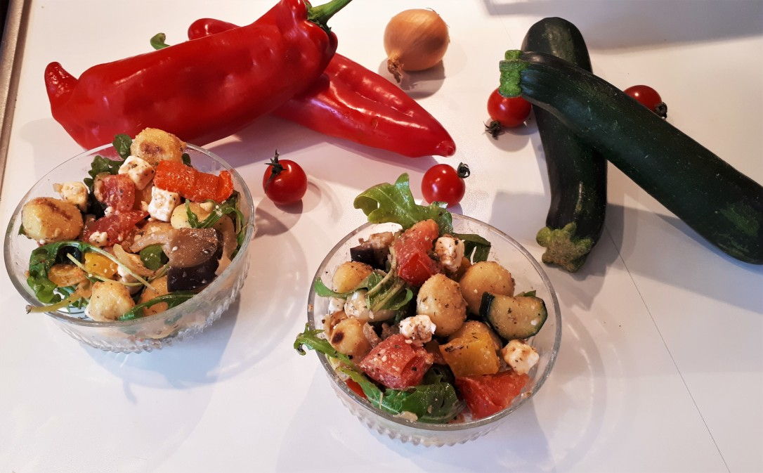 Gnocchi Salat Mediterran