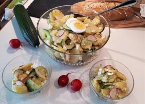 Kartoffelsalat nach bayrischer Art